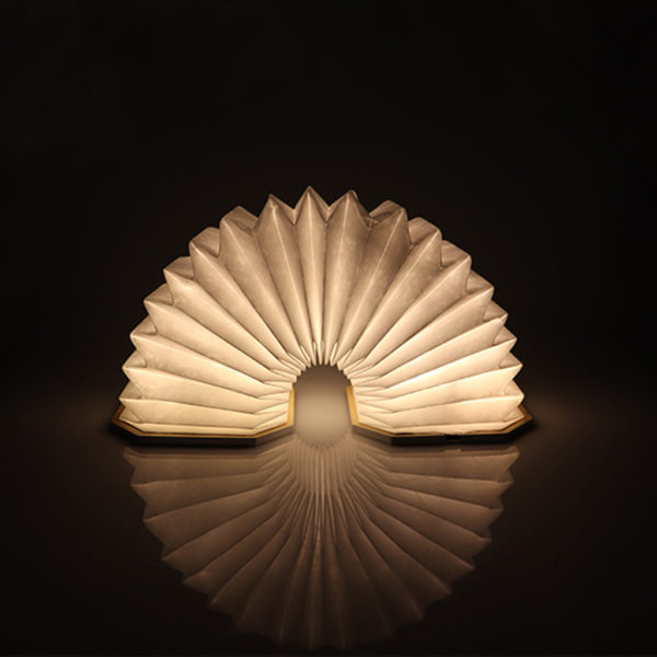 Wooden Book LED Lamp - 9