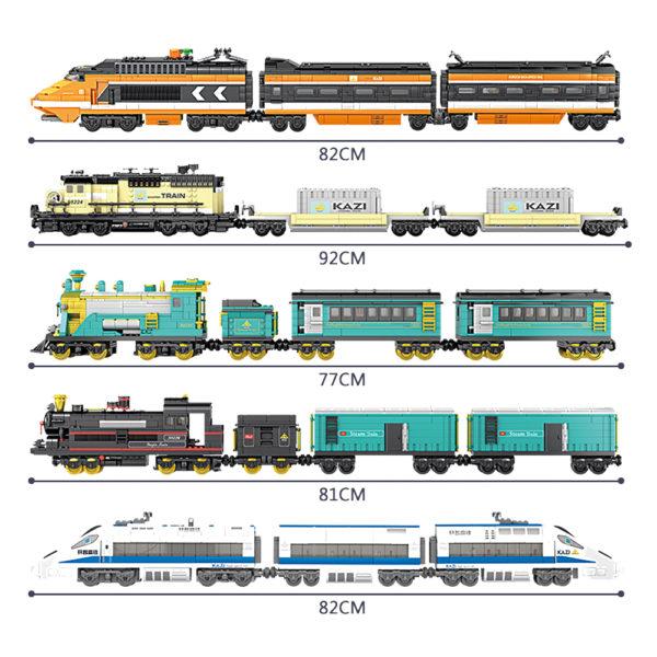 Building Blocks Electric Train