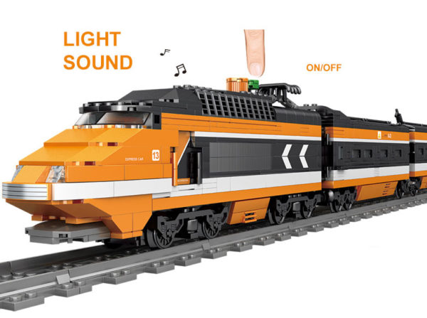 Building Blocks Electric Train - 98223-1