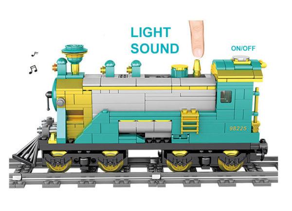 Building Blocks Electric Train - 98225-1