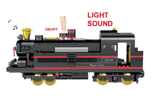 Building Blocks Electric Train - 98226-1