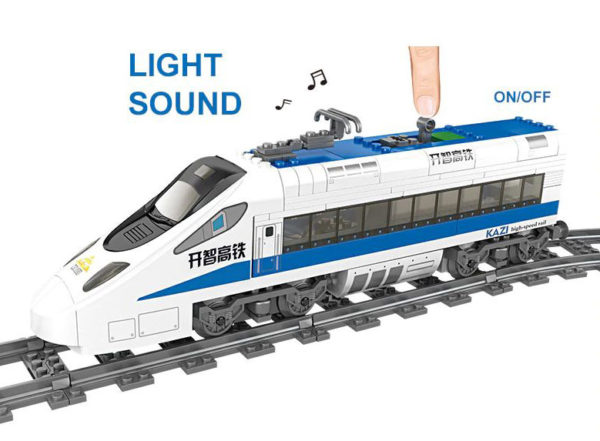 Building Blocks Electric Train - 98227-1