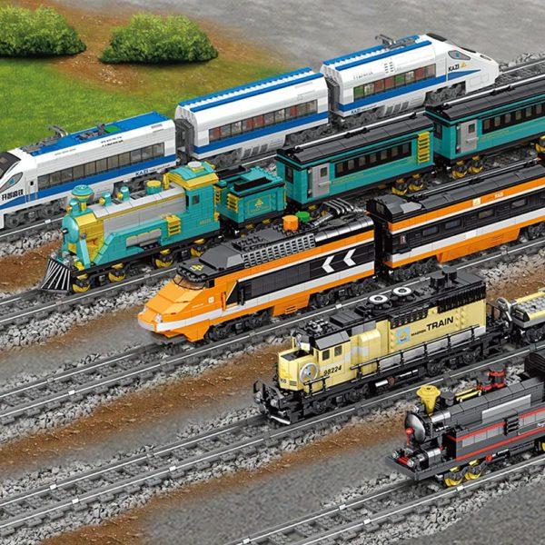 Building Blocks Electric Train-Models