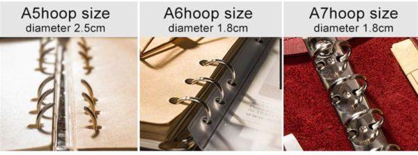 Handmade Vintage Leather Traveler Notebook - Binder