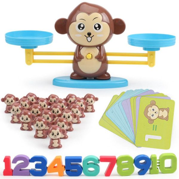 Monkey Balance - Childrens Counting Game - 2