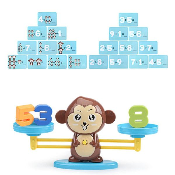 Monkey Balance - Childrens Counting Game - 3
