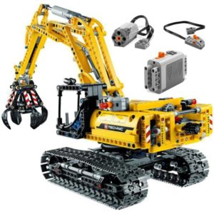 Motorized Excavator - Building Blocks