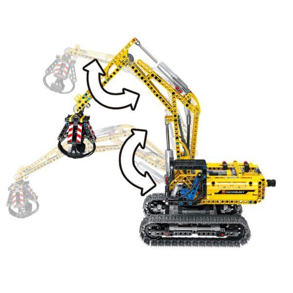Motorized Excavator - Building Blocks - 5