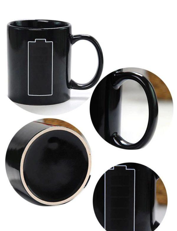 Temperature Mug - Novelty - Details -1