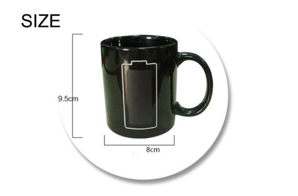 Temperature Mug - Novelty - Size