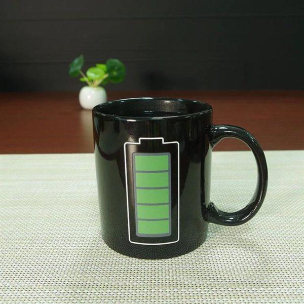 Temperature Mug - Novelty - hot