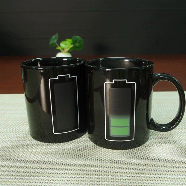 Temperature Mug - Novelty -warm