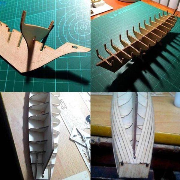 Wooden Sail Ship Building Kit - Hobby - 2