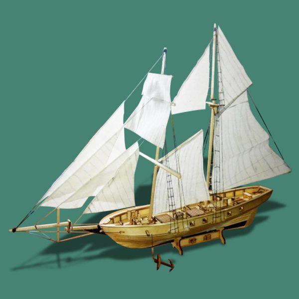 Wooden Sail Ship Building Kit - Hobby