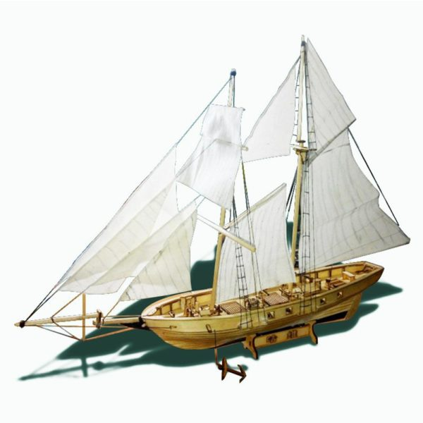 Wooden Sail Ship Building Kit - Hobby - Main