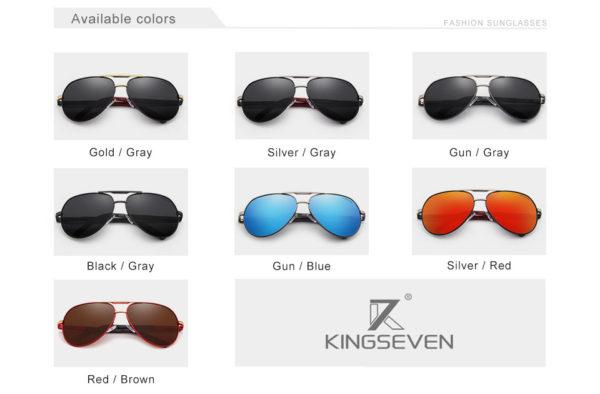Aluminum Polarized Sunglasses For Men-Women - 4