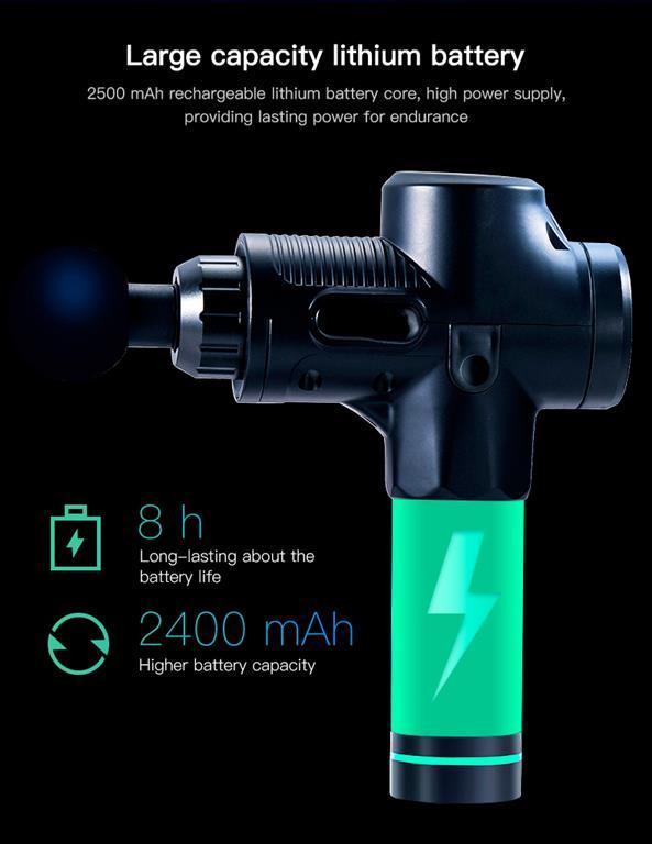 Deep Muscle Massage Gun - 8