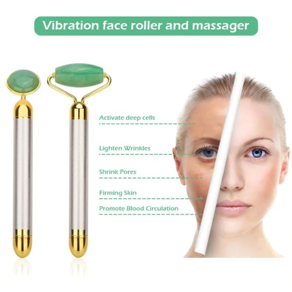Electric Jade Face Massage Kit - 4