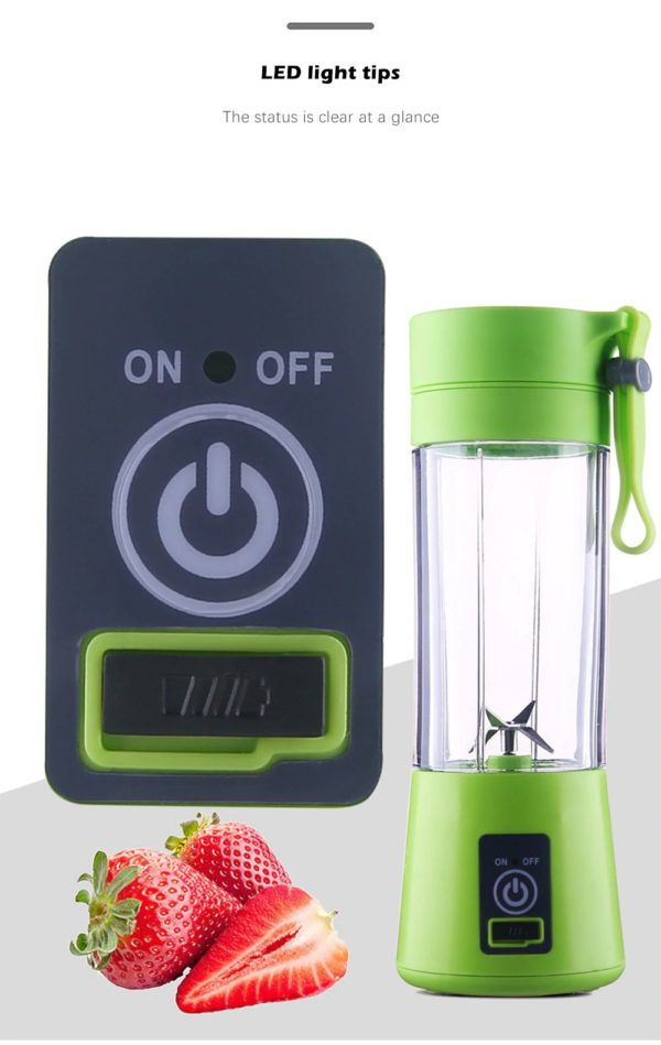 Electric Portable Juicer - 3
