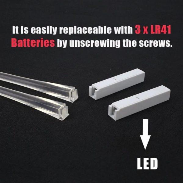 LED Chopsticks - Battery