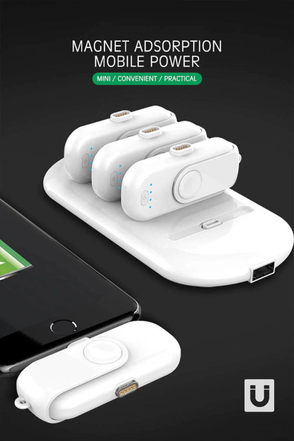 Portable Magnetic Power Bank Charger Kit - 2