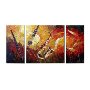 Music Instruments Wall Decor Oil Paintings