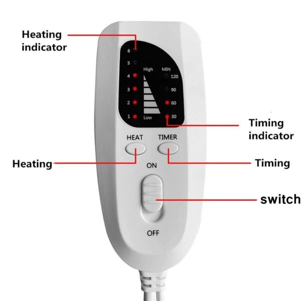 Electric Heating Pad - 8