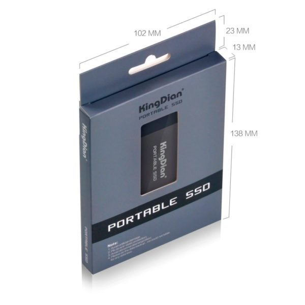 KingDian External Solid State Drive P10 - 5