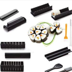 Sushi Making Kit - 11 Piece Set - 0