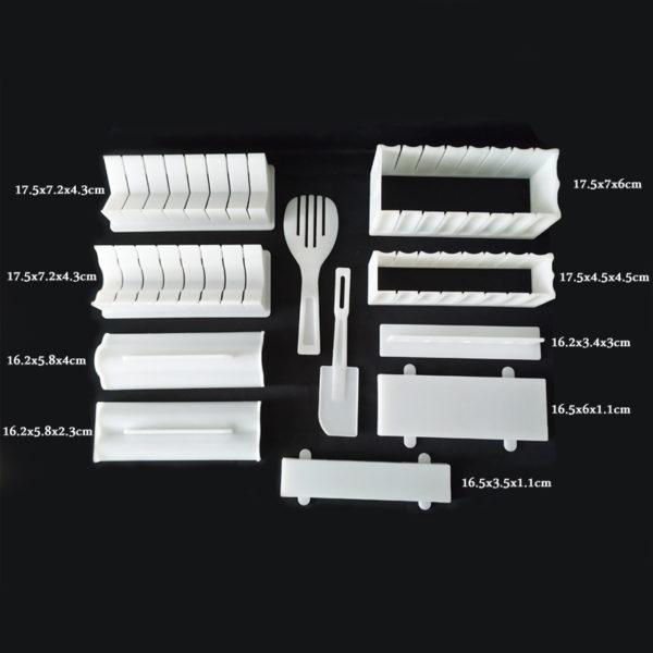 Sushi Making Kit - 11 Piece Set - Size