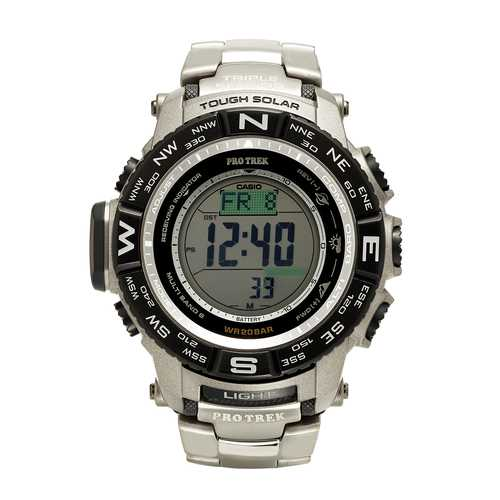 Casio Mens Pro Trek Tough Solar Digital Sport Watch