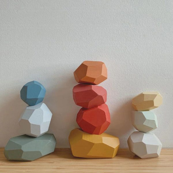 Creative Nordic Style Stacking Game - 2