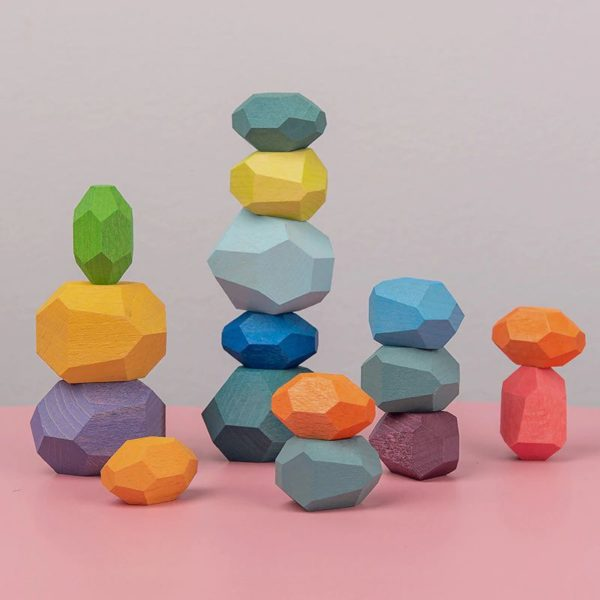 Creative Nordic Style Stacking Game - 9