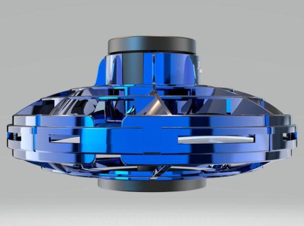 Flying Spinner Toy - blue