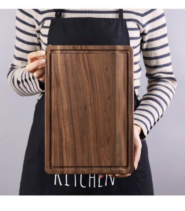 Black Walnut Chopping Board - Rect