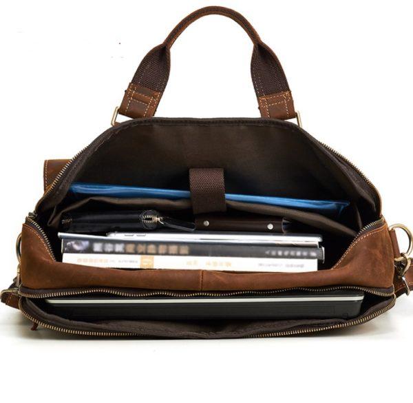 Genuine Cowhide Business Bag For Men 1