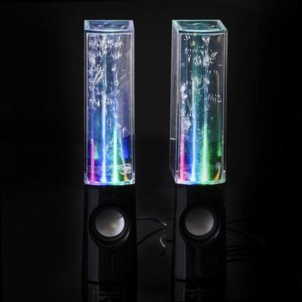 LED Dancing Water Speakers - Black