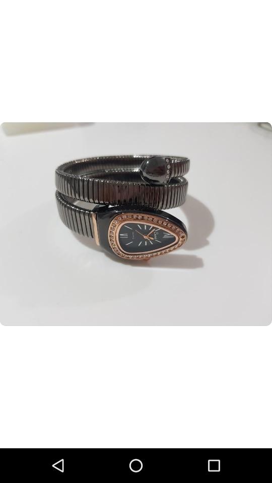 Womens Snake Bracelet Watch 4
