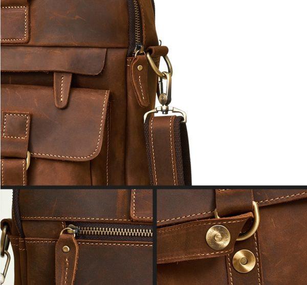 Genuine Cowhide Business Bag For Men 3