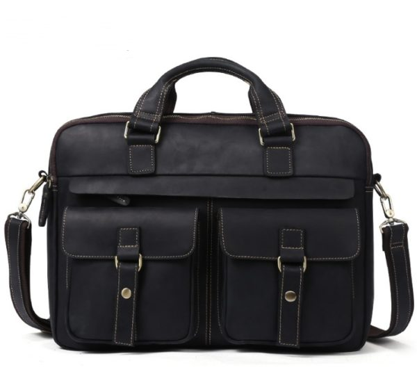 Genuine Cowhide Business Bag For Men 7