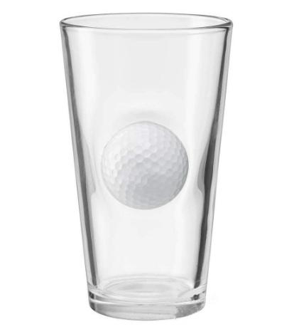 Golf Ball Beer Glass 1