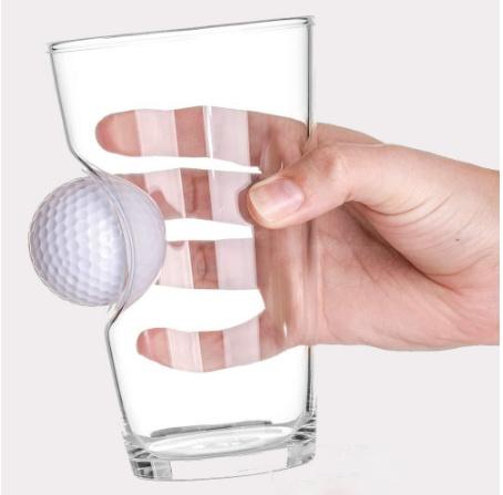 Golf Ball Beer Glass - 3