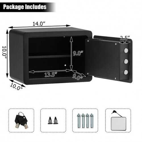 Fingerprint Safe Box Security Box 1