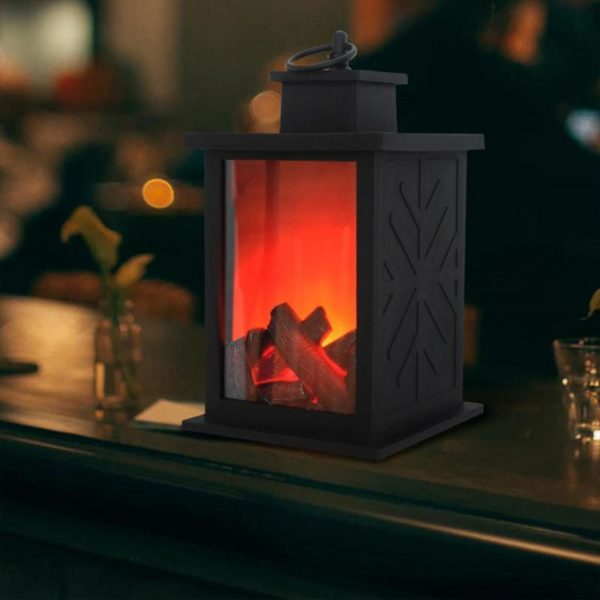 Simulated Fireplace Battery Powered Decorative Lights 3