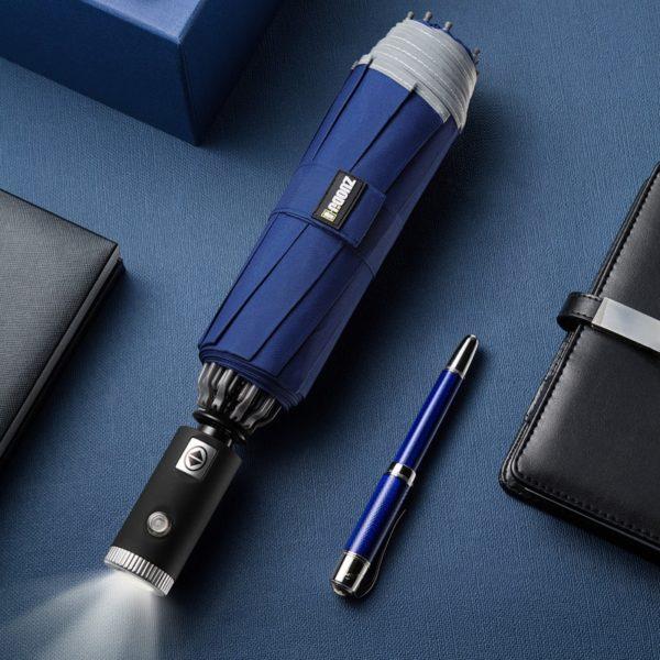 Inverse LED Umbrella - Blue