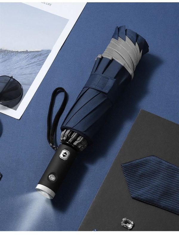 Inverse LED Umbrella - Blue1