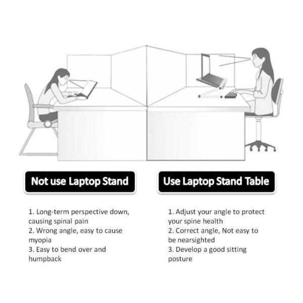 Foldable Ergonomic Laptop Stand 3