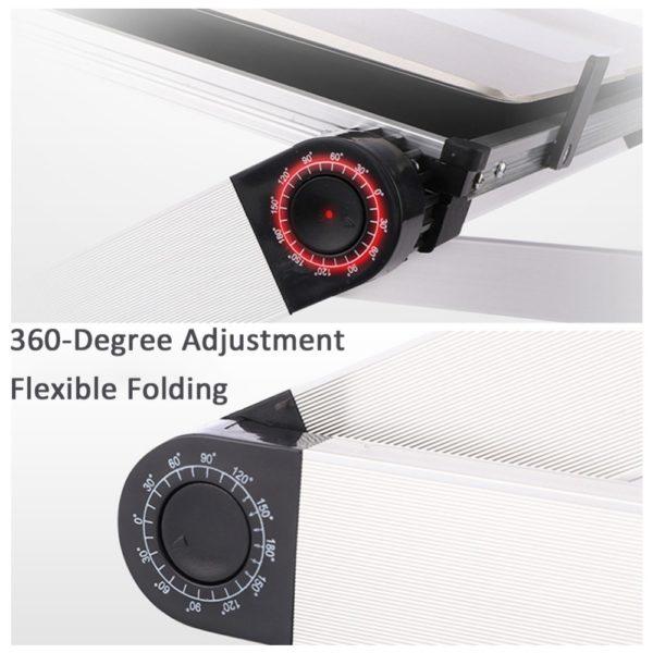 Foldable Ergonomic Laptop Stand 2