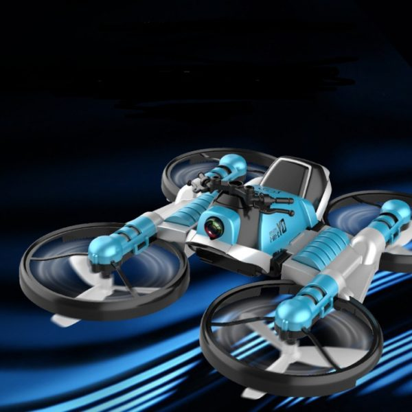 2 in 1 Transformer Drone - Quadcopter-Motorcycle Drone 1