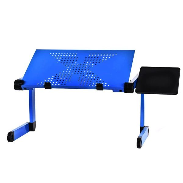 Foldable Ergonomic Laptop Stand With Cooling Fan And Mousepad - 3